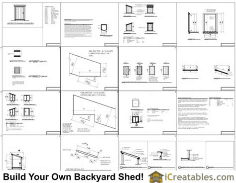Free Generator Shed Plans by 4x4 Generator Enclosure Shed Plans Build Your Own Generator Shed