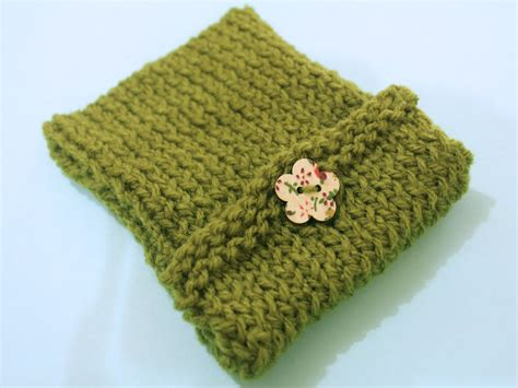 how to knit buttons how to knit an ipod cover with button clasp 6 steps