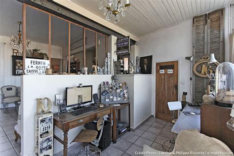 Une maison à l'esprit brocante   Maison Créative