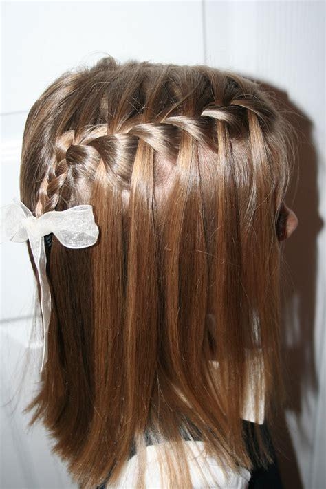 Waterfall Braid Hairstyles by 26 Sweet Waterfall Braid Hairstyles Slodive