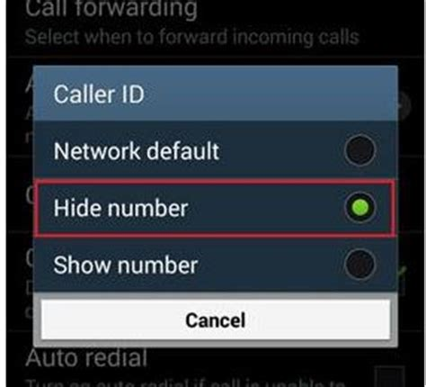 hide phone number android hiding your phone number on android all about smartphones
