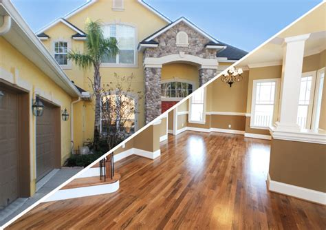 Interior Exterior by Painting Interior And Exterior Dreams Construction Company
