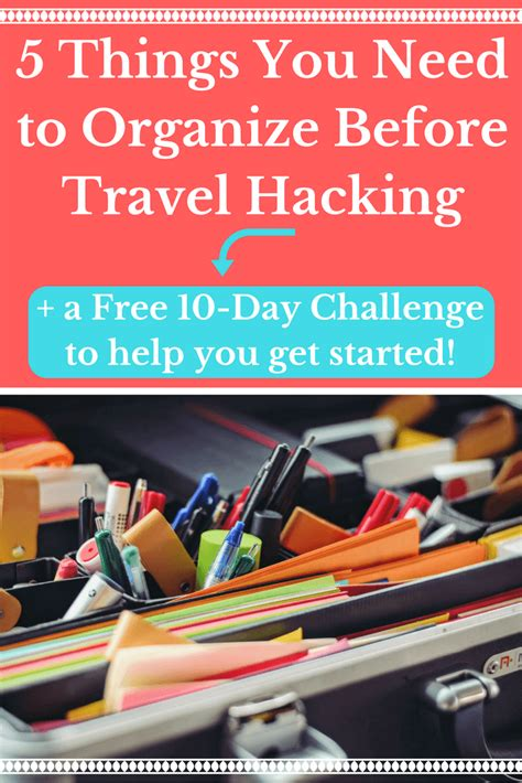 5 Things You Need To At The by 5 Things You Need To Organize Before Travel Hacking The