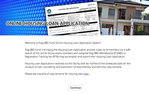online housing loan application how to apply pag ibig fund housing loan online