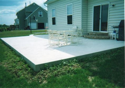 How To Build A Concrete Patio Slab by How To Install A Bathroom Floor On A Concrete Slab Wood