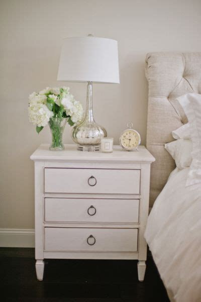 White Nightstand Table 25 Best Ideas About White Nightstand On Side