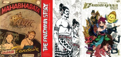 Garudayana Saga 3 the mahabharata in comics inside indonesia