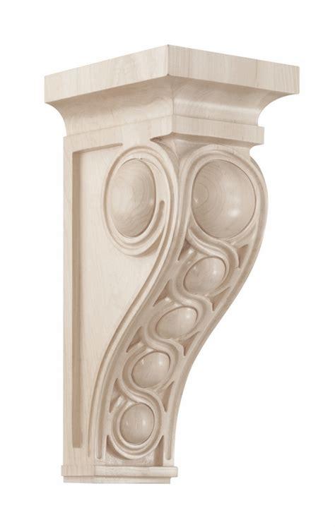 Fancy Corbels 01601437wl1 Infinity Decorative Wood Corbel Large Walnut
