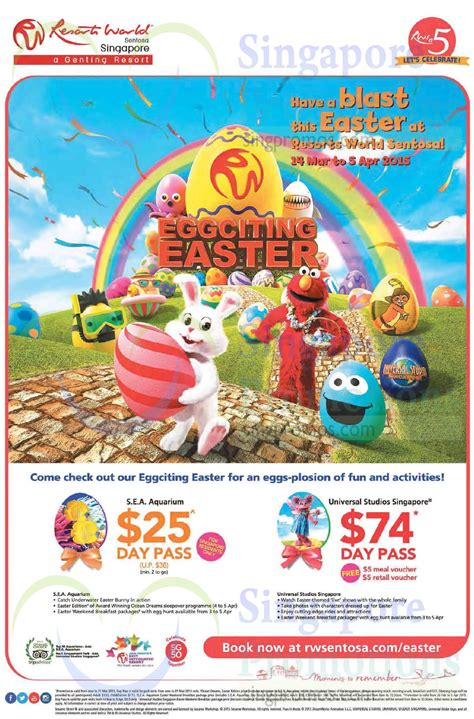 resorts world sentosa eggciting easter promotions