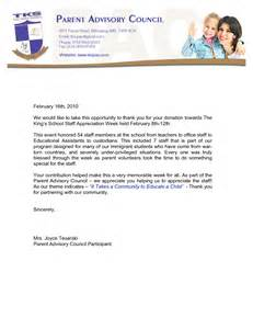 Charity Letter Of Appreciation Best Photos Of Thank You Letter Appreciation Business