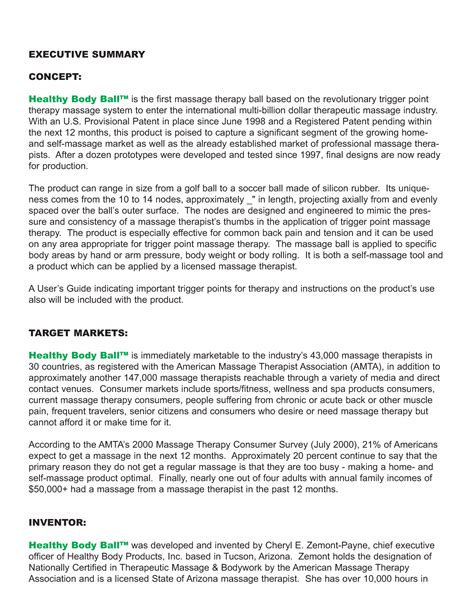 personal trainer business plan sample beautiful executive summary
