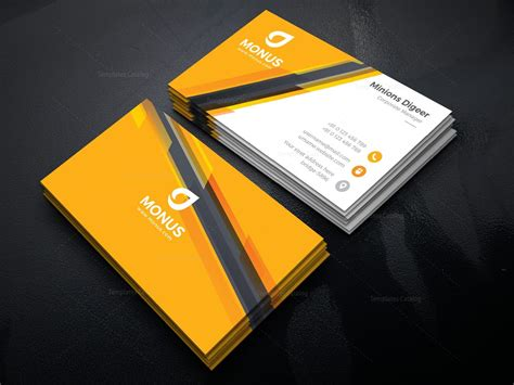 Awesome Phlet Card Design Templates by Awesome Corporate Business Card Design Template 001585