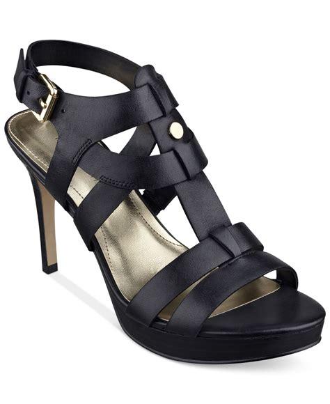 platform dress sandals marc fisher vachella platform dress sandals in black lyst