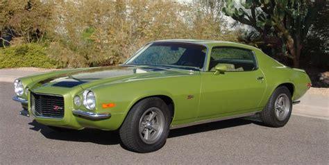 1970 camaro green citrus green 1970 camaro paint cross reference