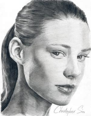 realistic portrait done by chris realistic pencil portrait mastery learn how to draw