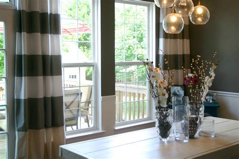 curtains for dining room ideas dining room curtain ideas 4 the minimalist nyc