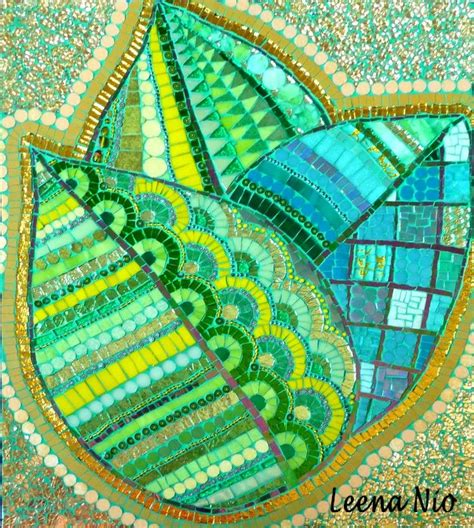 leaf pattern mosaic 231 best images about mosaic trees and leaves on pinterest