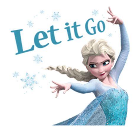 let it go image stickerline elsa let it go png disney wiki