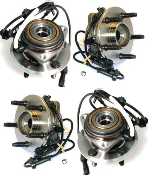 repair anti lock braking 2002 mercury mountaineer electronic throttle control 1995 2001 ford explorer mountaineer front wheel hub bearing w abs sensor pair ebay