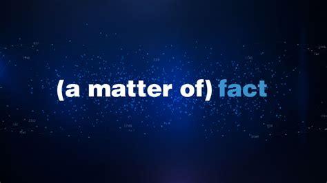 www matter matter of fact metals scitech now