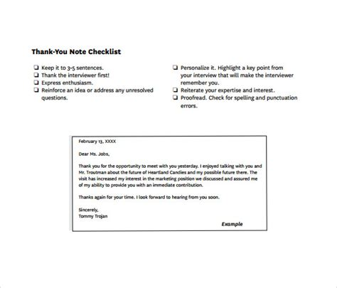 Thank You Letter For Phone With Recruiter sle thank you note after phone 6 free documents in pdf word