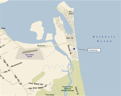 maps and aerial views of plum island