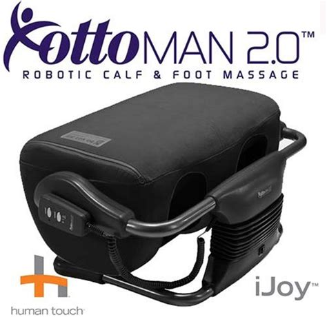 Look Ottoman 20 Calf And Foot Massager Black