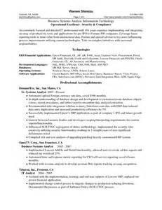 Sample Business Analyst Resume most systems analyst resume example download computer analyst resume