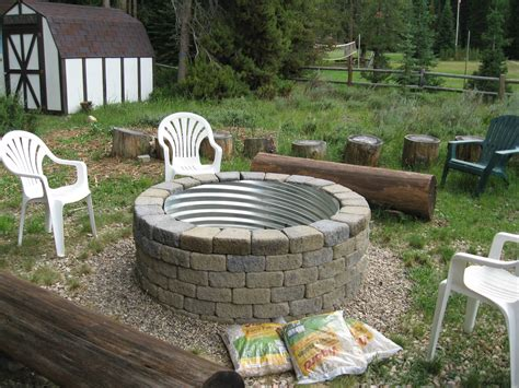 culvert pit pin by cook on decks and patios