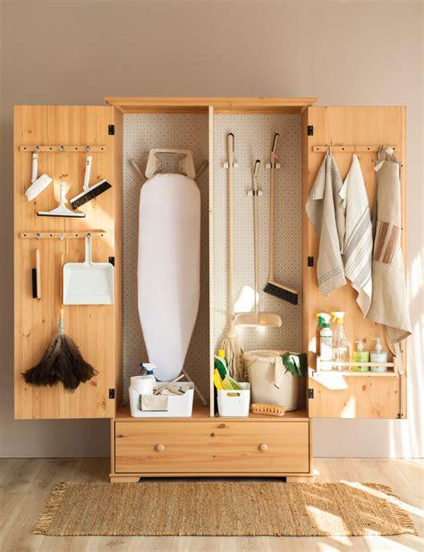 orden en los productos de limpieza
