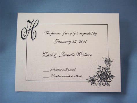 Reply To Wedding Invitation