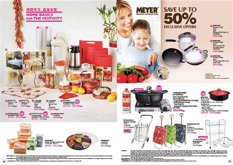 ntuc new year promotion also save up to 50 meyer primezzo stainless steel