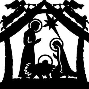 144 best images about nativity silhouettes on pinterest