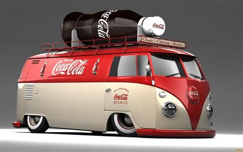 volkswagen products vw oldtimer coca cola cola tuning produkte desktop hd
