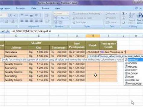 tutorial vlookup dan hlookup pdf cd tutorial microsoft excel 2007 fungsi vlookup dan