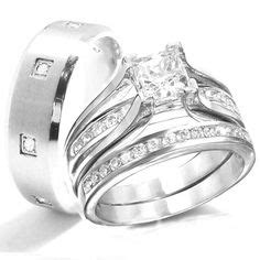 Cincin Jewelry 925 Sterling Silver Princess Cut Sapphire Bridal 1000 images about affordable wedding engagement rings