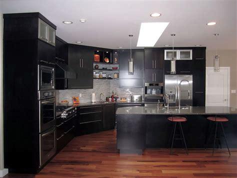 large modern kitchens espresso kitchen with large island modern kitchen