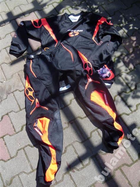 no fear motocross stroj cross motocross no fear spodnie bluza rogue