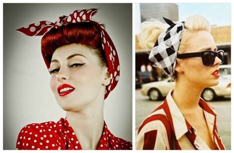 womens 1950s bandana hairstyles 25 best vintage outfit ideas for a perfect vintage look