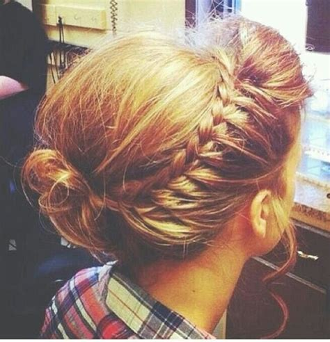 easy pentecostal hairstyle poof bump and two braids poof hairstyle with bun www imgkid com the image kid