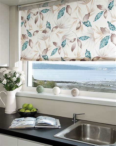 persianas red railux sumi teal roller blinds