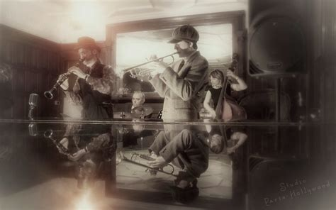 french swing band 1920s ballroom music hire 1930s french jazz band hire