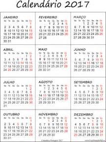 Calendario 2018 Em Portugues Calend 225 2017 Impress 227 O Pdf Para Impress 227 O Livre