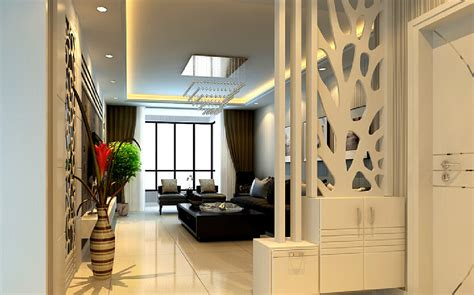 partition design partition wooden design between hall dining interior