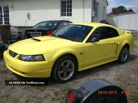 2001 mustang coupe 2001 ford mustang gt premium coupe 2 door 4 6l
