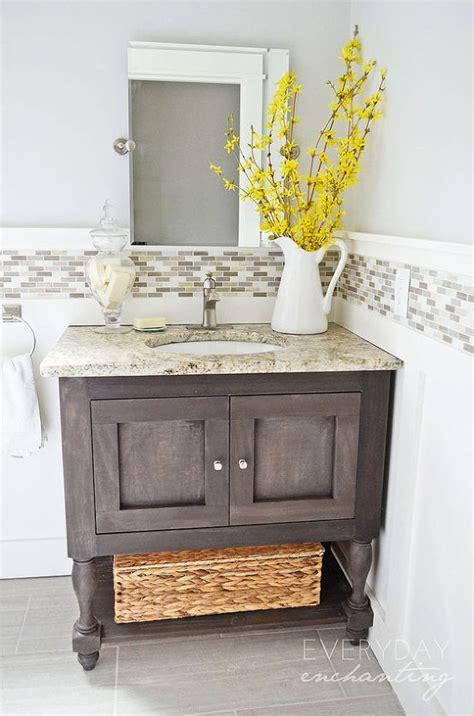 diy small bathroom vanity 25 best ideas about small bathroom vanities on pinterest