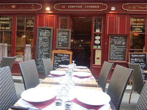 comptoir lyonnais le comptoir lyonnais restaurant lyon r 233 server
