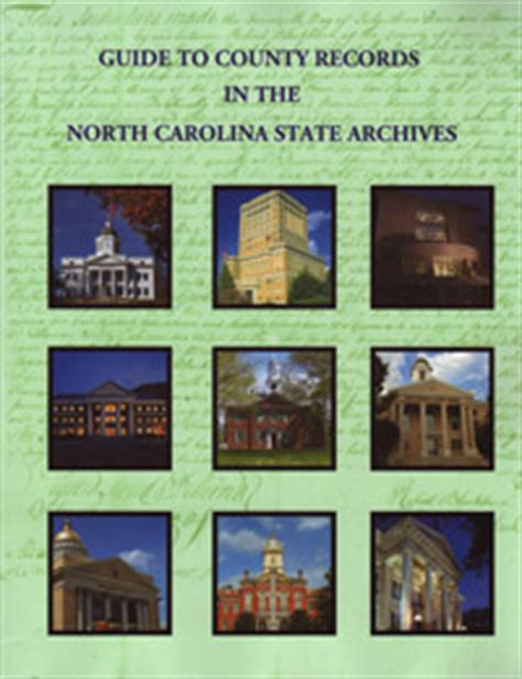 State Of Carolina Records Guide To County Records In The Carolina State Archives Genealogyblog