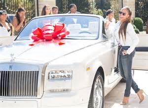 Steve Harvey Gives Marjorie Harvey $500,000 Rolls Royce