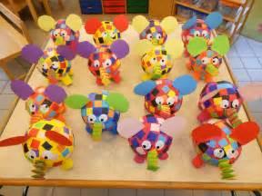 Paper Mache Crafts For Preschoolers - elmer papier mach 233 luchtballon elmer